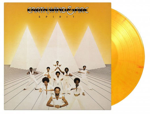 vinyl LP EARTH, WIND & FIRE SPIRIT (Flaming vinyl)