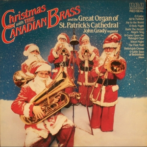 vinyl LP Canadian Brass Christmas With the Canadian Brass