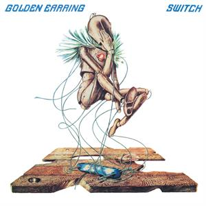 vinyl LP GOLDEN EARRING SWITCH (Transparent blue vinyl)