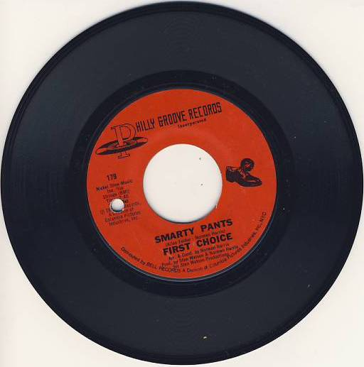 "7""SP FIRST CHOICE - Smarty Pants"
