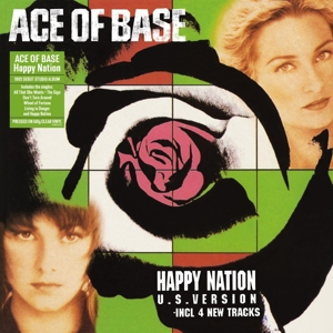 vinyl LP Ace of Base Happy Nation U.S. Version (Clear vinyl)