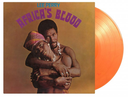 vinyl LP LEE PERRY AFRICA'S BLOOD (Orange vinyl)
