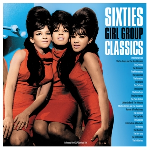vinyl 3LP Various ‎Sixties Girl Group Classics (Blue vinyl)