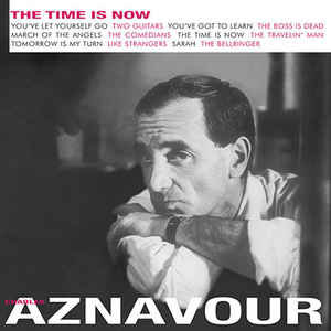 vinyl LP CHARLES AZNAVOUR Time is Now