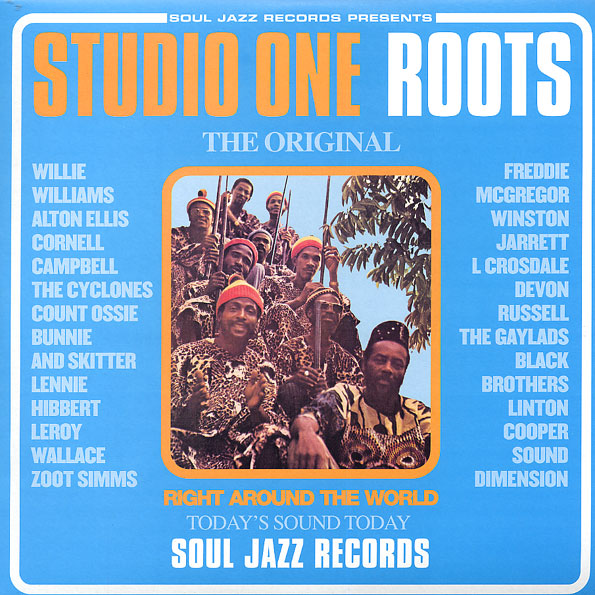 vinyl 2LP STUDIO ONE ROOTS