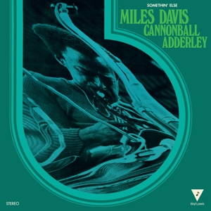vinyl LP Miles Davis Cannonball Adderley Somethin' Else