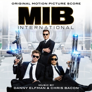 vinyl LP Danny Elfman & Chris Bacon ‎MIB International (Original Motion Picture Score)
