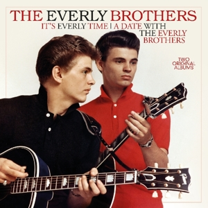 vinyl LP EVERLY BROTHERS It's Everly Time/A Date With the Everly Brothers