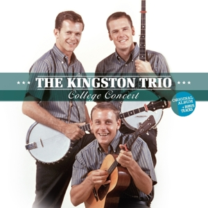vinyl LP KINGSTON TRIO College Concert