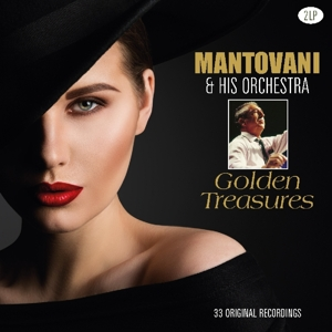 vinyl 2LP MANTOVANI & His Orchestra Golden Treasures