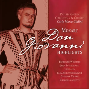 vinyl LP W.A. MOZART Don Giovanni Highlights