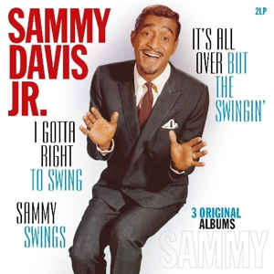 vinyl 2LP SAMMY DAVIS JRI Gotta Right To Swing/It's All Over.../Sammy Swings