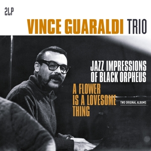 vinyl 2LP VINCE GUARALDI TRIO Jazz Impressions of Black Orpheus/ Flower is a Lovesome