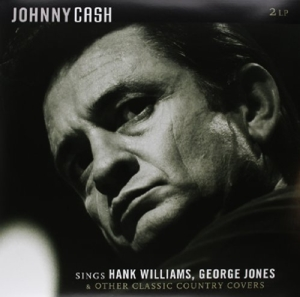 vinyl 2LP JOHNNY CASH Sings Hank Williams, George Jones & Other Classic Country Covers