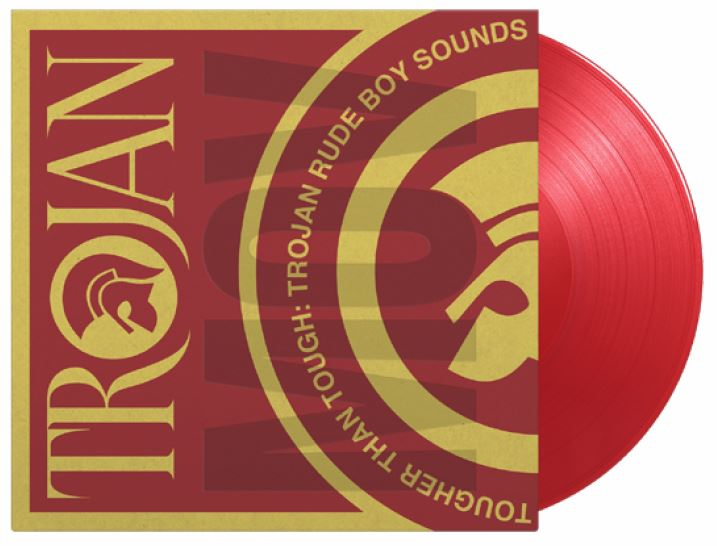 vinyl 2LP VARIOUS ARTISTS TOUGHER THAN TOUGH - TROJAN RUDE BOY SOUNDS (Translucent red vinyl)
