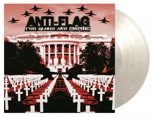 vinyl LP ANTI-FLAG For Blood & Empire (White marbled vinyl)