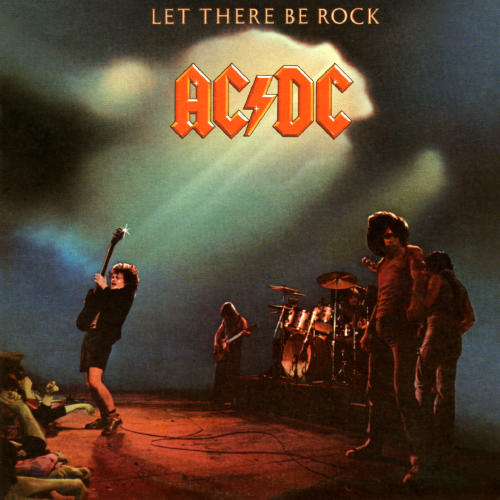 vinyl LP AC/DC Let There Be Rock