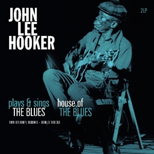 vinyl 2LP John Lee Hooker ‎Plays & Sings The Blues / House Of The Blues (Two Original Albums + Bonus Tracks)