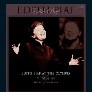 vinyl 2LP Edith Piaf At the Olympia - 1961 & 1962