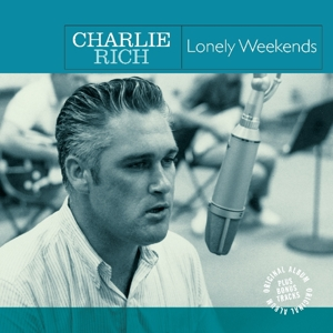vinyl LP Charlie Rich Lonely Weekends