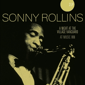vinyl 2LP Sonny Rollins ‎A Night At The Village Vanguard/At Music Inn