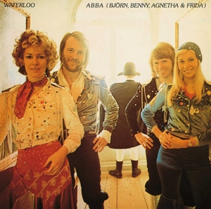 vinyl LP Abba Waterloo