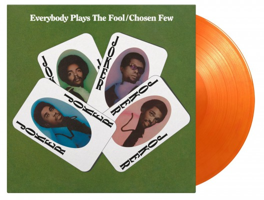 vinyl LP CHOSEN FEW EVERYBODY PLAYS THE FOOL (Orange vinyl)