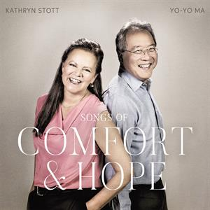 vinyl 2LP YO-YO MA & KATHRYN STOTT SONGS OF COMFORT & HOPE