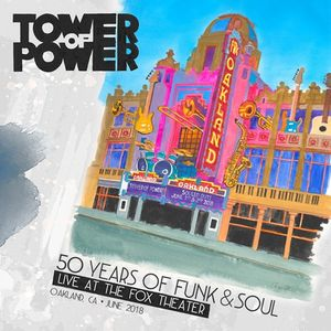 vinyl 3LP Tower of Power 50 Years of Funk & Soul: Live At the Fox Theater