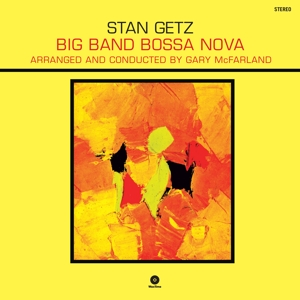 vinyl LP Stan Getz Big Band Bossa Nova