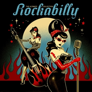 vinyl 2LP V/A Ultimate Rockabilly Collection (Transparent red vinyl)