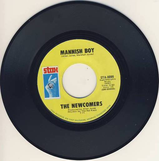 "7""SP NEWCOMERS,The - Mannish Boy"