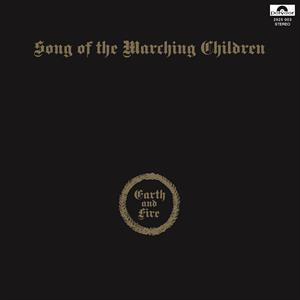 vinyl LP EARTH AND FIRE SONG OF THE MARCHING CHILDREN (50th anniversary gold vinyl)
