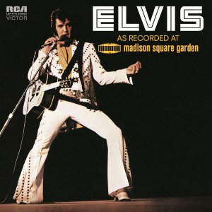vinyl 2LP ELVIS PRESLEY AS RECORDED AT MADISON SQUARE GARDEN