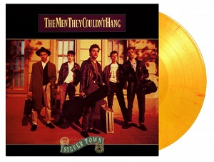 vinyl LP THE MEN THEY COULDN'T HANG SILVER TOWN (Flaming vinyl)