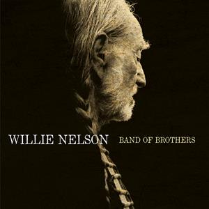 vinyl LP WILLIE NELSON BAND OF BROTHERS (Transparent blue vinyl)