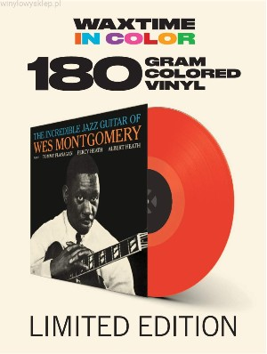 vinyl LP Wes Montgomery ‎The Incredible Jazz Guitar of Wes Montgomery