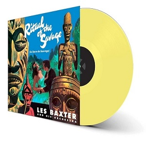 vinyl LP LES BAXTER Ritual of the Savage