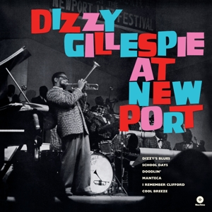 vinyl LP DIZZY GILLESPIE At Newport