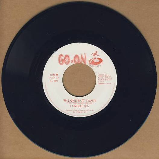 "vinyl 7""SP HUMBLE LION The One That I Want"