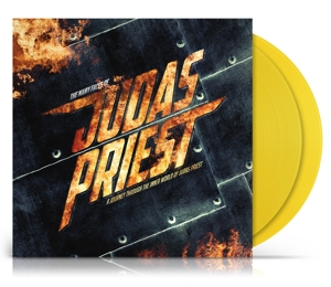 vinyl 2LP V/A Many Faces of Judas Priest (Transparent yellow vinyl)