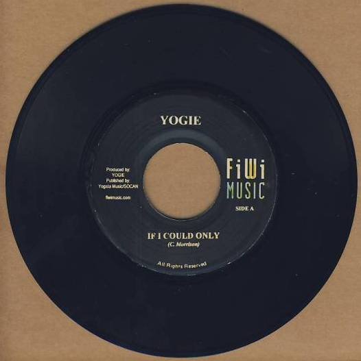 "vinyl 7""SP YOGI If I Could Only"