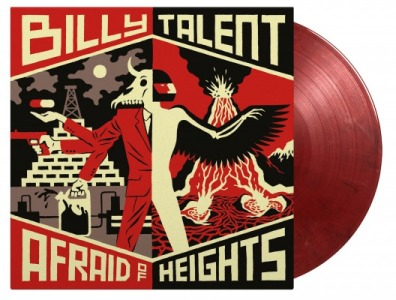 vinyl 2LP BILLY TALENT AFRAID OF HEIGHTS (Bloody Mary vinyl)