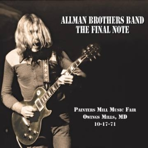 vinyl 2LP The Allman Brothers Band The Final Note (RSD USA 2021)