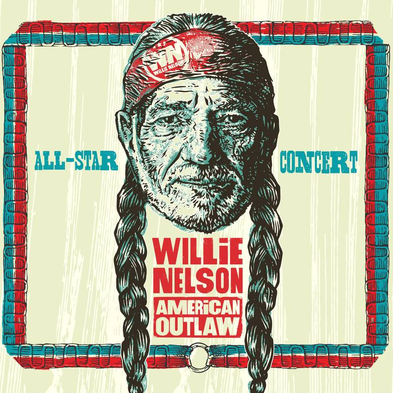 vinyl 2LP Various Artists Willie Nelson American Outlaw (Live At Bridgestone Arena / 2019) (RSD USA 2021)