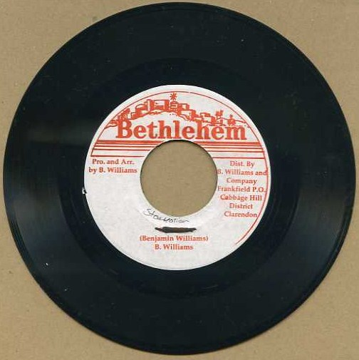 "vinyl 7""SP BENJAMIN WILLIAMS Starnation"