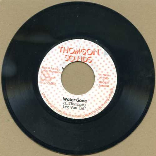 "vinyl 7""SP LEE VAN CLIFF Water Gone"