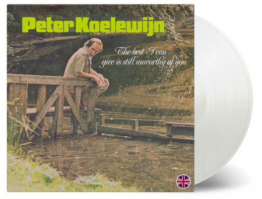 vinyl LP PETER KOELEWIJN THE BEST I CAN GIVE IS STILL UNWORTHY OF YOU /English version (White vinyl)