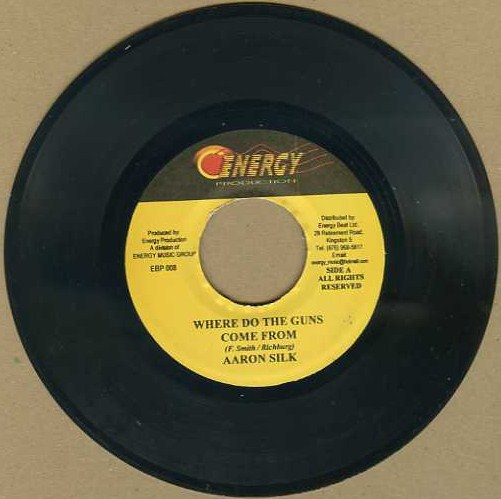 "vinyl 7""SP AARON SILK Where Do The Guns Come From"
