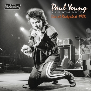 vinyl 2LP PAUL YOUNG & THE ROYAL FAMILY LIVE AT ROCKPALAST 1985 (Orange vinyl)